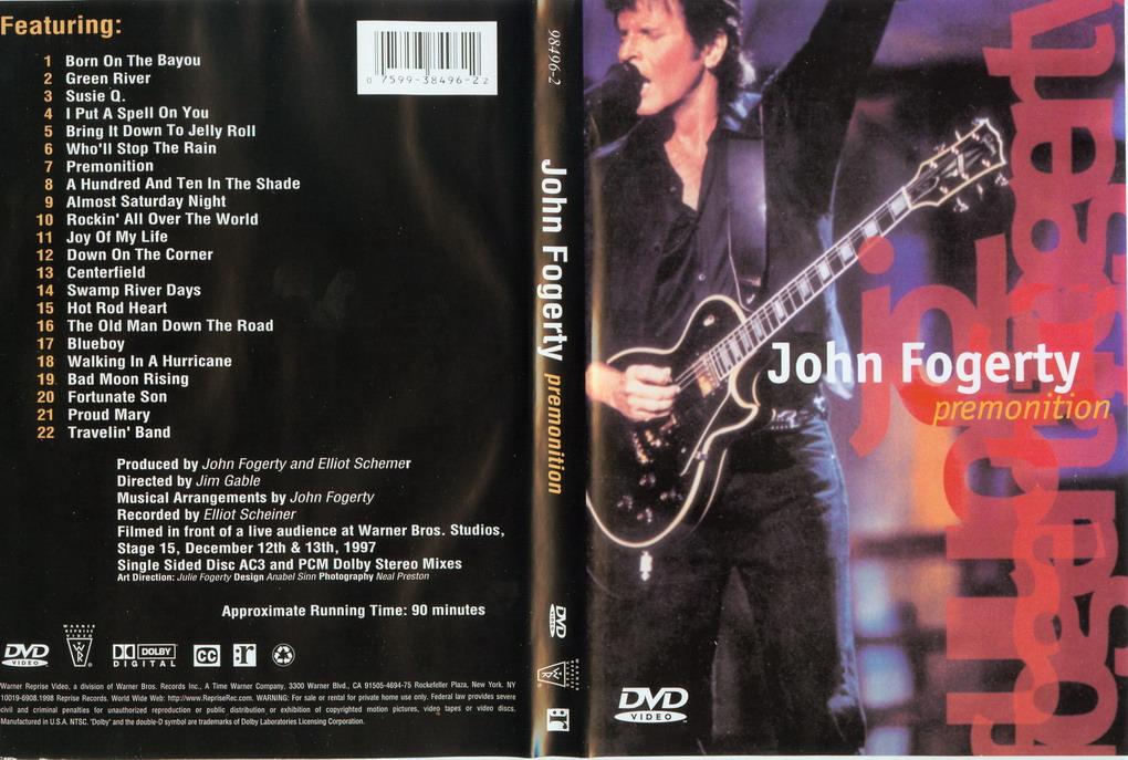 John Fogerty - Premonition [DVD]+[Flac][ Mega]