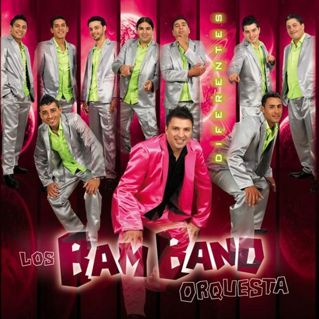 Los Bam Band - Diferentes - Front