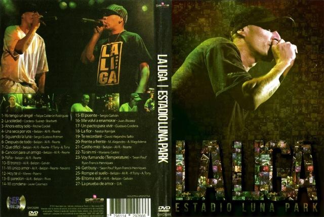 Tito y La Liga - Luna Park - DVD x2